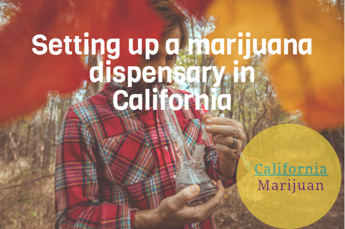 Setting up a marijuana dispensary in California